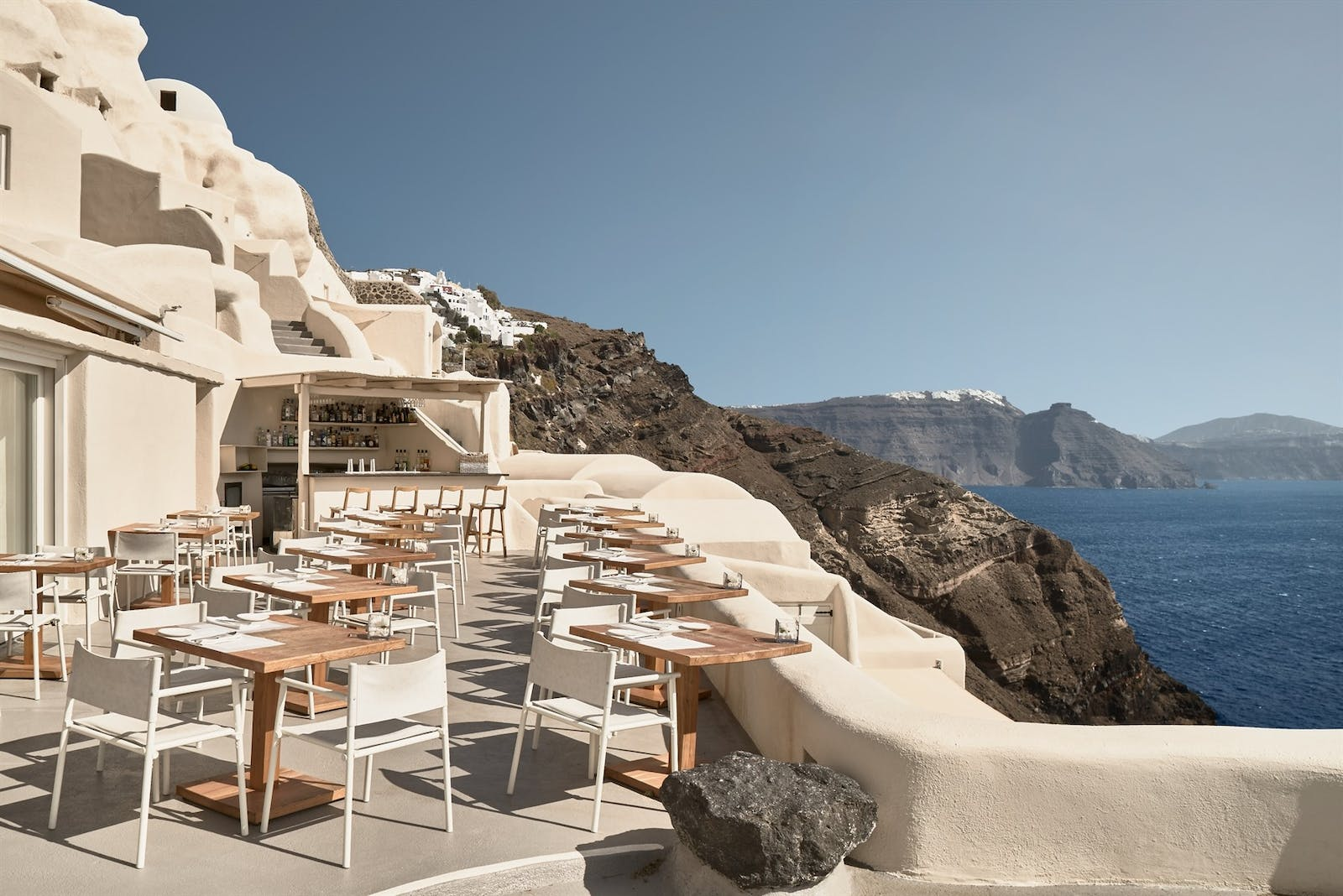 Charisma Restaurant, Mystique, Santorini, Greece