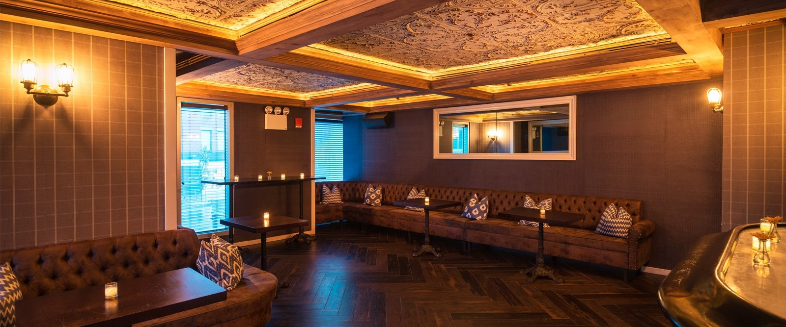 The Chester Bar Area At Gansevoort Meatpacking NYC
