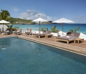 Pool Area at Cheval Blanc St Barth Isle de France