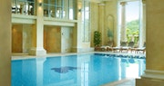Spa pool at Chewton Glen, England