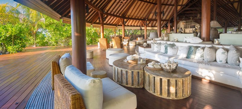 Chill lounge at Denis Private Island