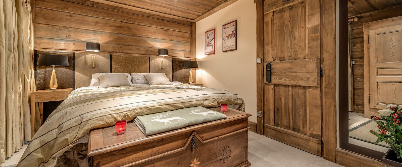 Bedroom at Chalet Chopine