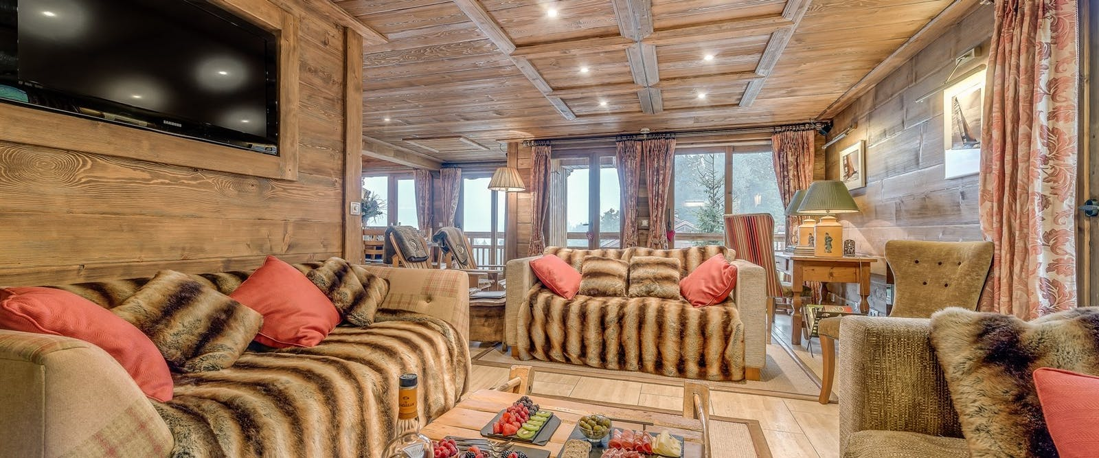 Lounge of Chalet Chopine