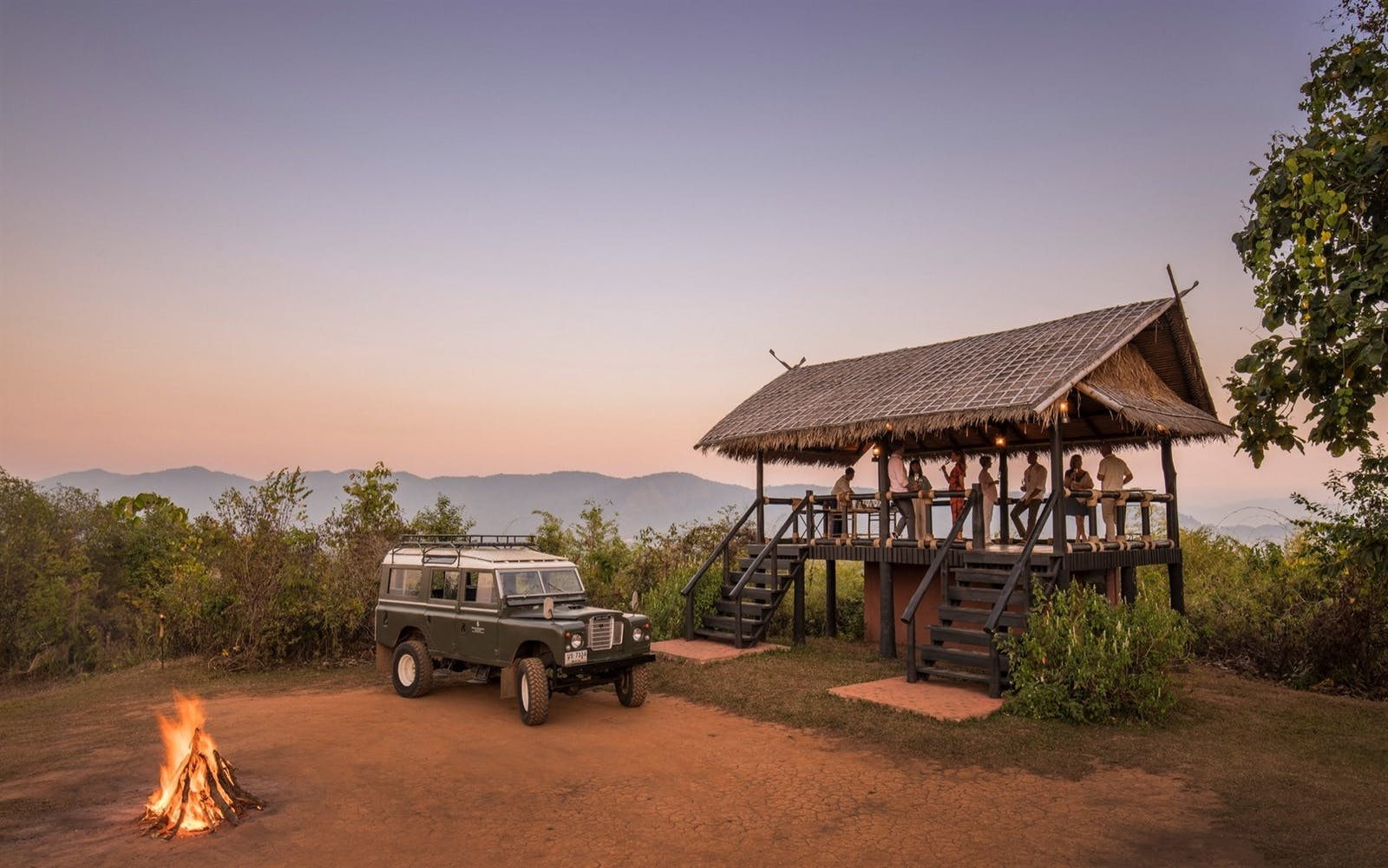 Go in search of elephants, Four Seasons Tented Camp Golden Triangle, Thailand