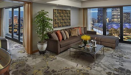 City suite at Mandarin Oriental, Singapore