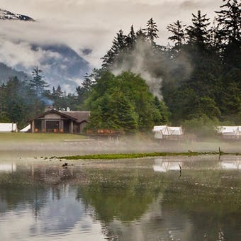 Exterior of Clayoquot Wilderness Resort
