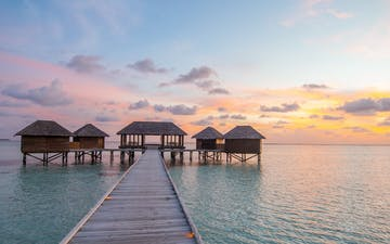 Over Water Spa at Conrad Maldives Rangali Island