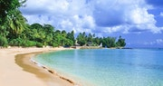 Relax along white sandy shore lines at Cobblers Cove, Barbados