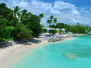 Beach Area at Cobblers Cove, Barbados