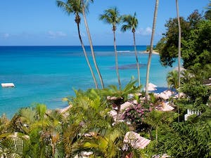 Beach View at Cobblers Cove, Barbados, Caribbean