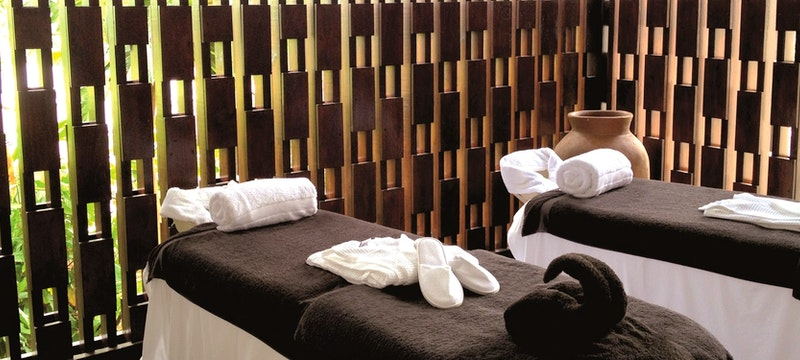 Relax in the Cocoa Juvenate Spa at Boucan by Hotel Chocolat