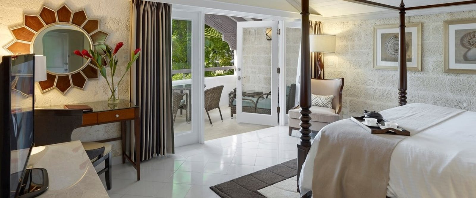 Luxury Poolside Room at Colony Club by Elegant Hotels, Barbados, Caribbean