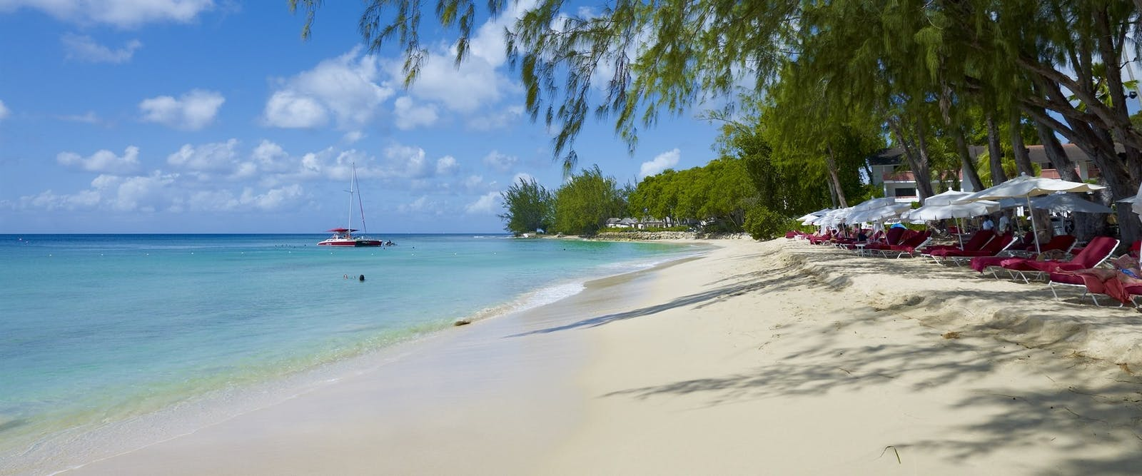 Beach at Colony Club by Elegant Hotels, Barbados, Caribbean