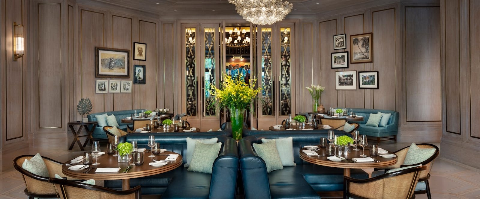Common Wealth Dining Room at Rosewood Baha Mar, Bahamas, Caribbean