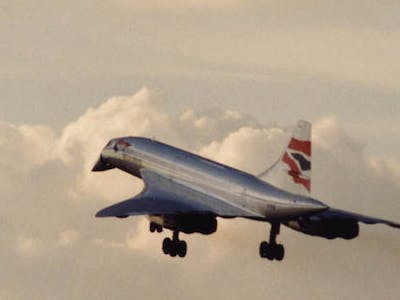 An anniversary journey on Concorde