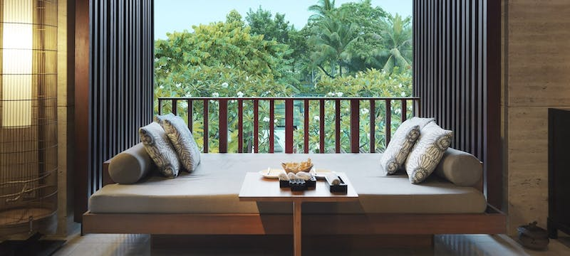 Conrad suites lounge at Conrad Bali Resort & Spa