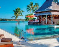 Main pool at Constance Prince Maurice, Mauritius
