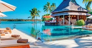 Main pool at Constance Le Prince Maurice, Mauritius