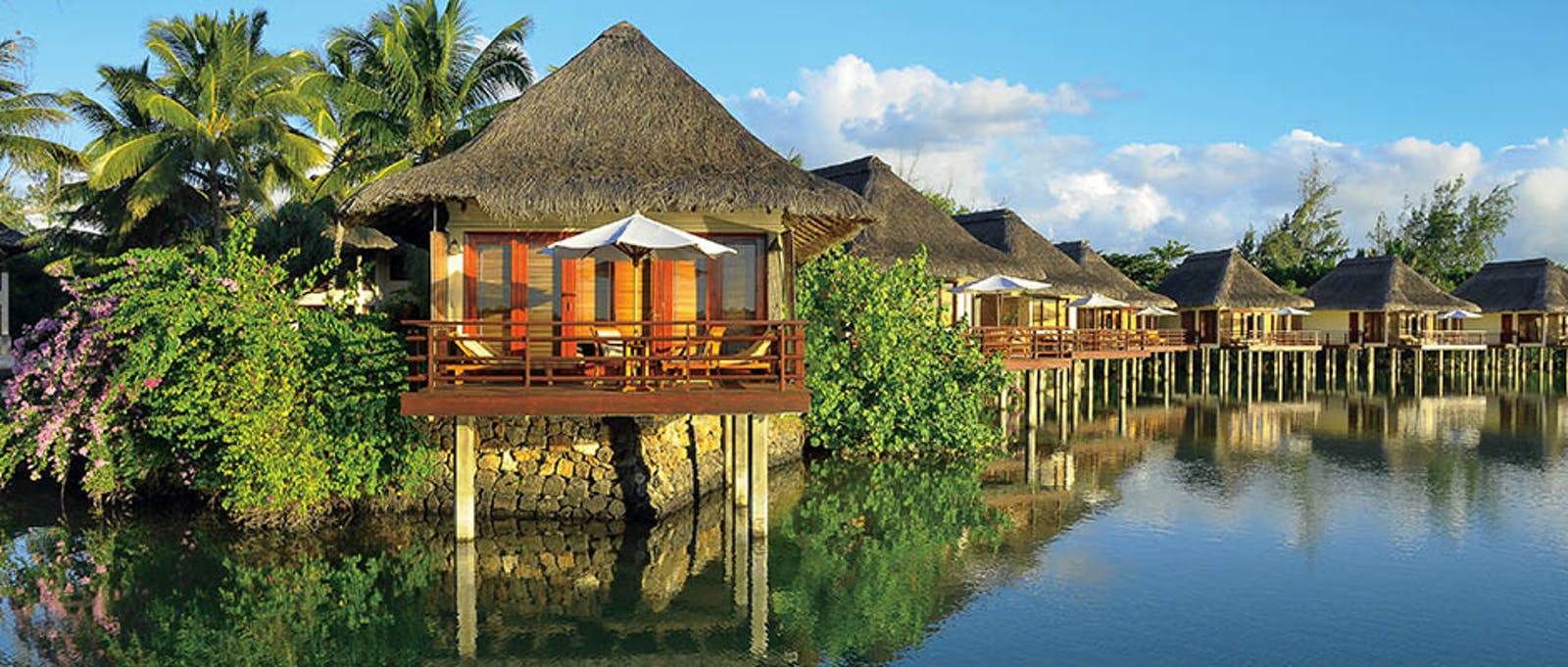 Villa on Stilts at Constance Prince Maurice, Mauritius