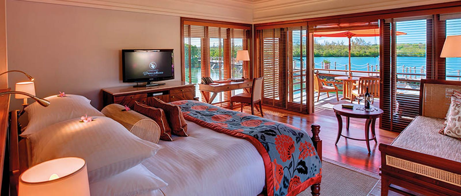 Junior Suite on Stilts at Constance Prince Maurice, Mauritius