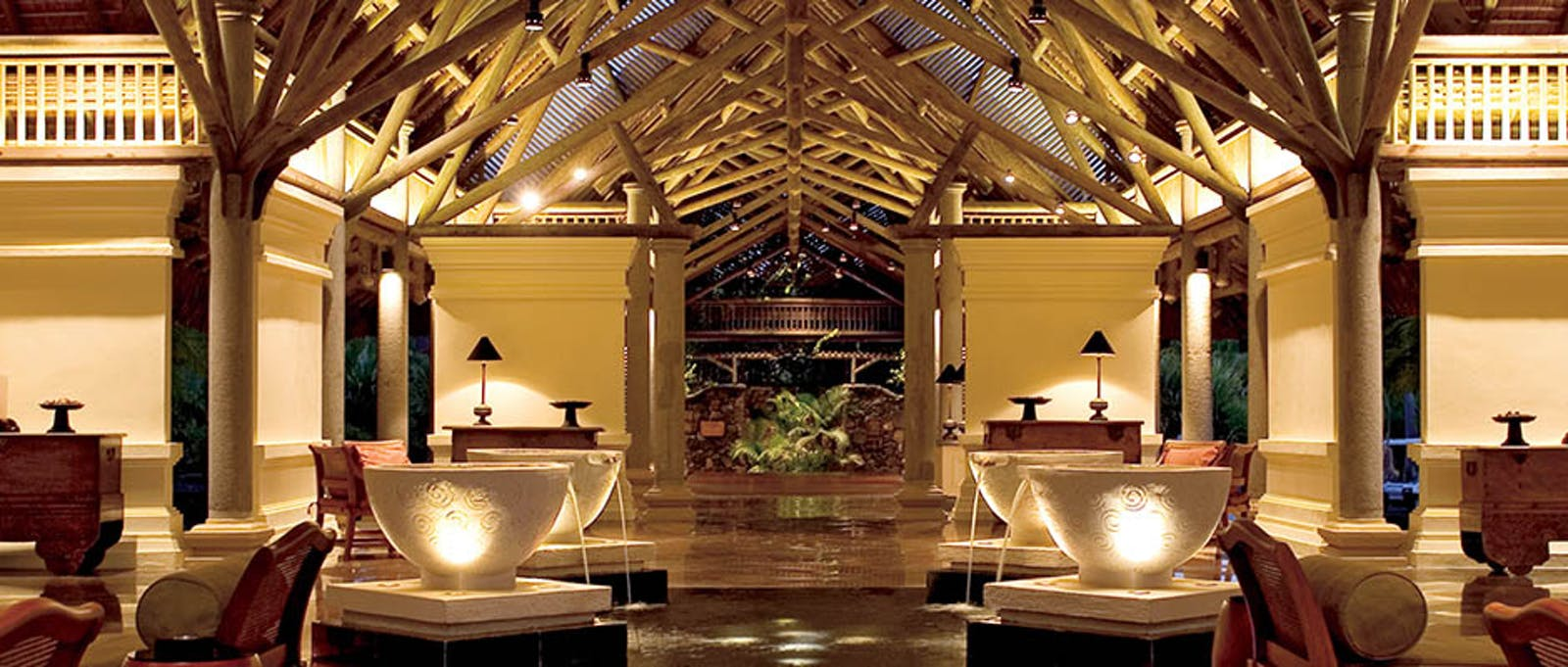 Lobby at Constance Prince Maurice, Mauritius