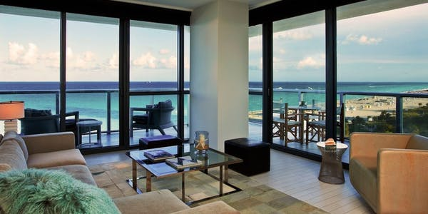 Cool Corner Suite at W South Beach
