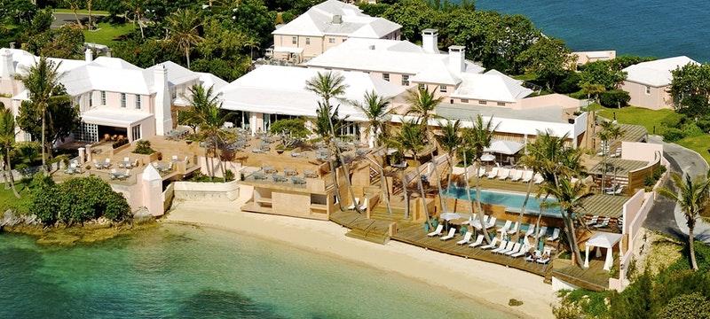 Aerial view of Cambridge Beaches Resort & Spa, Bermuda