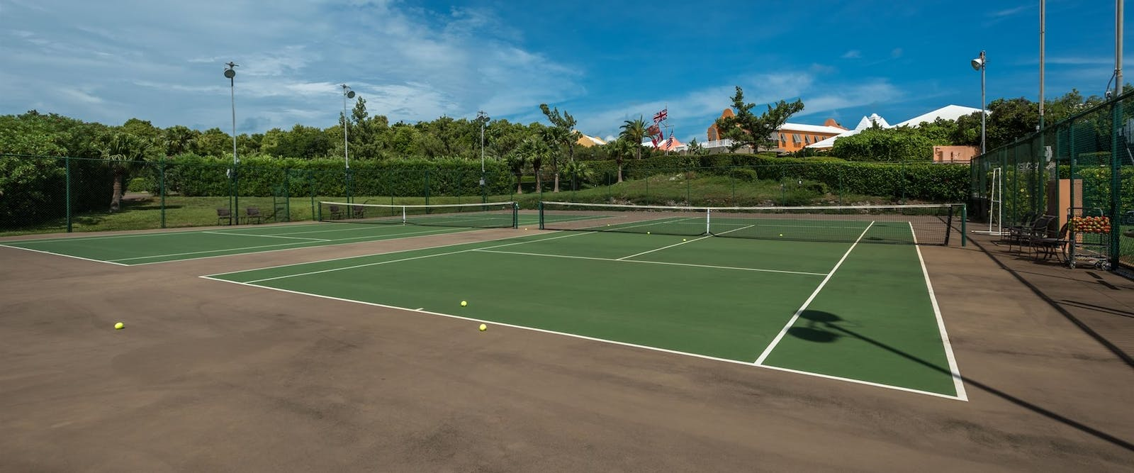 Tennis Courts at Grotto Bay, Bermuda