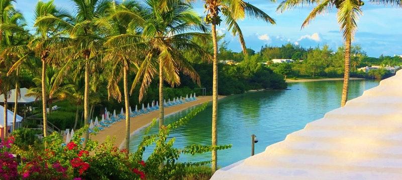 Long bay beach at Cambridge Beaches Resort & Spa, Bermuda