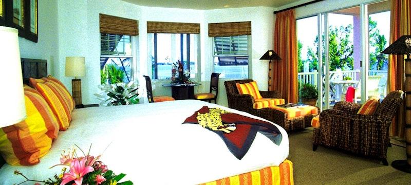 Petite water view suite at Cambridge Beaches Resort & Spa, Bermuda