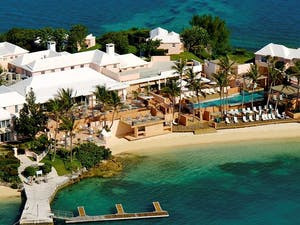 Aerial View of Cambridge Beaches Resort & Spa, Bermuda