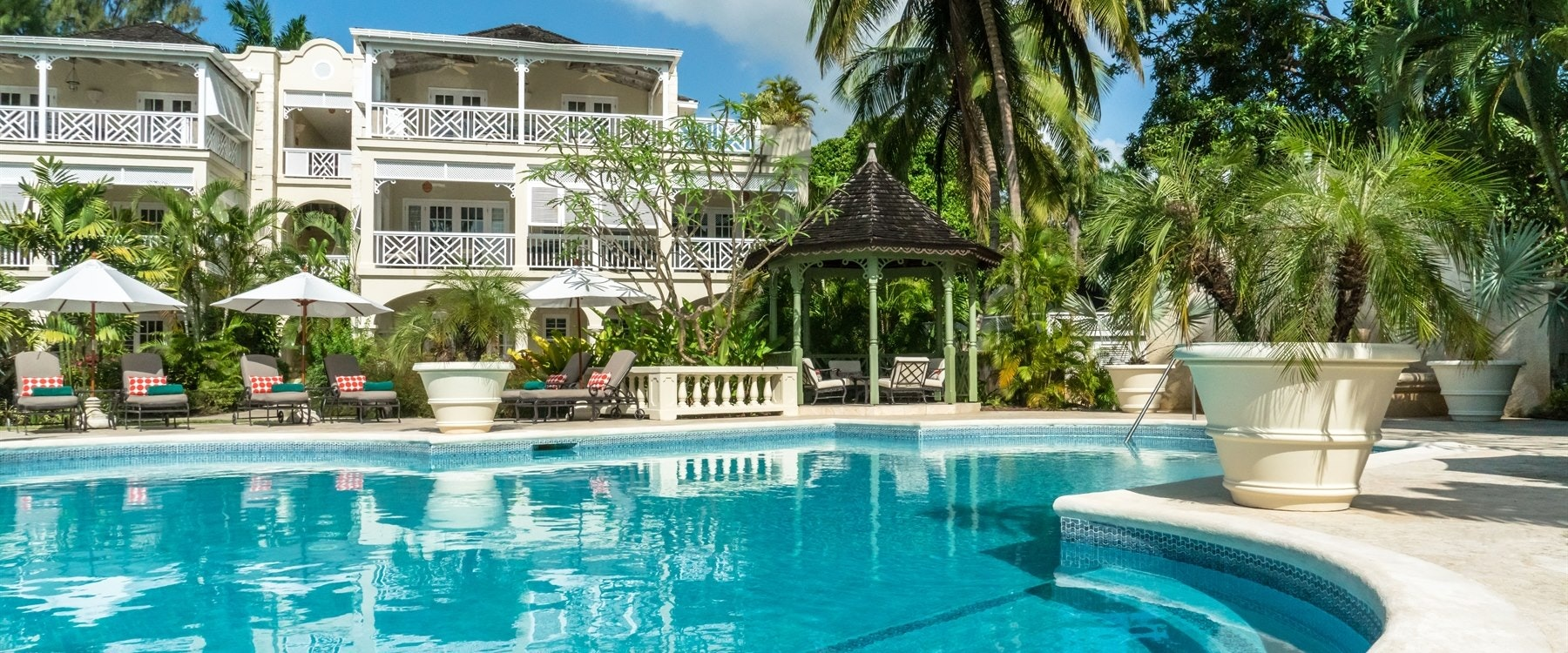Swimming Pool at Coral Reef Club, Barbados