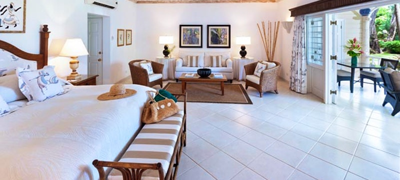 Luxury Junior Suite at Coral Reef Club, Barbados