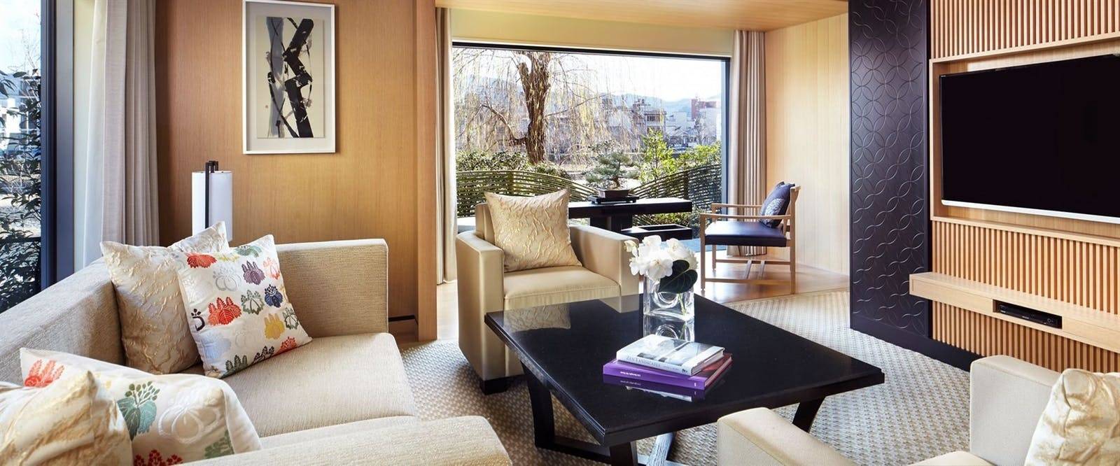 Corner Suite Kita at The Ritz-Carlton Kyoto, Japan