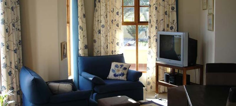 Living room area at Cornerstone Guesthouse