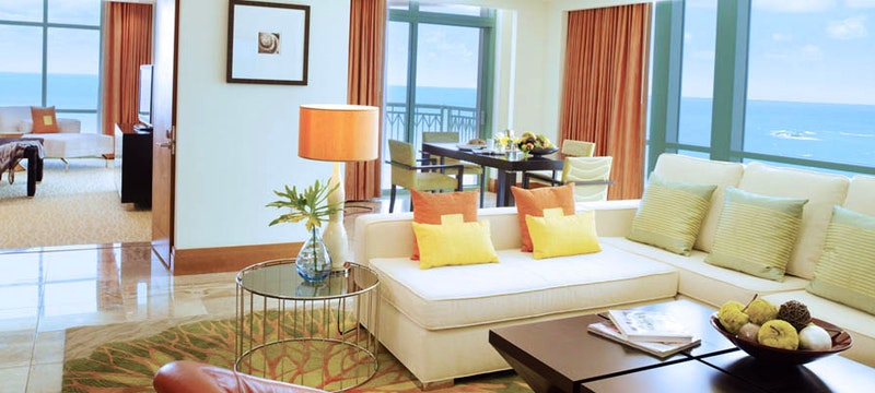 Sapphire Suite at The Cove Atlantis, Bahamas