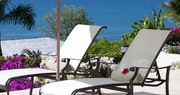 Relaxing terrace at The Cove Suites at Blue Water, Antigua