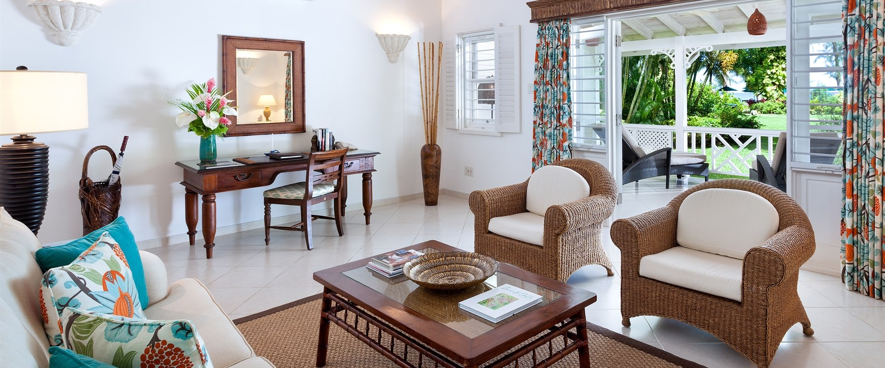 luxury cottage at coral reef club barbados
