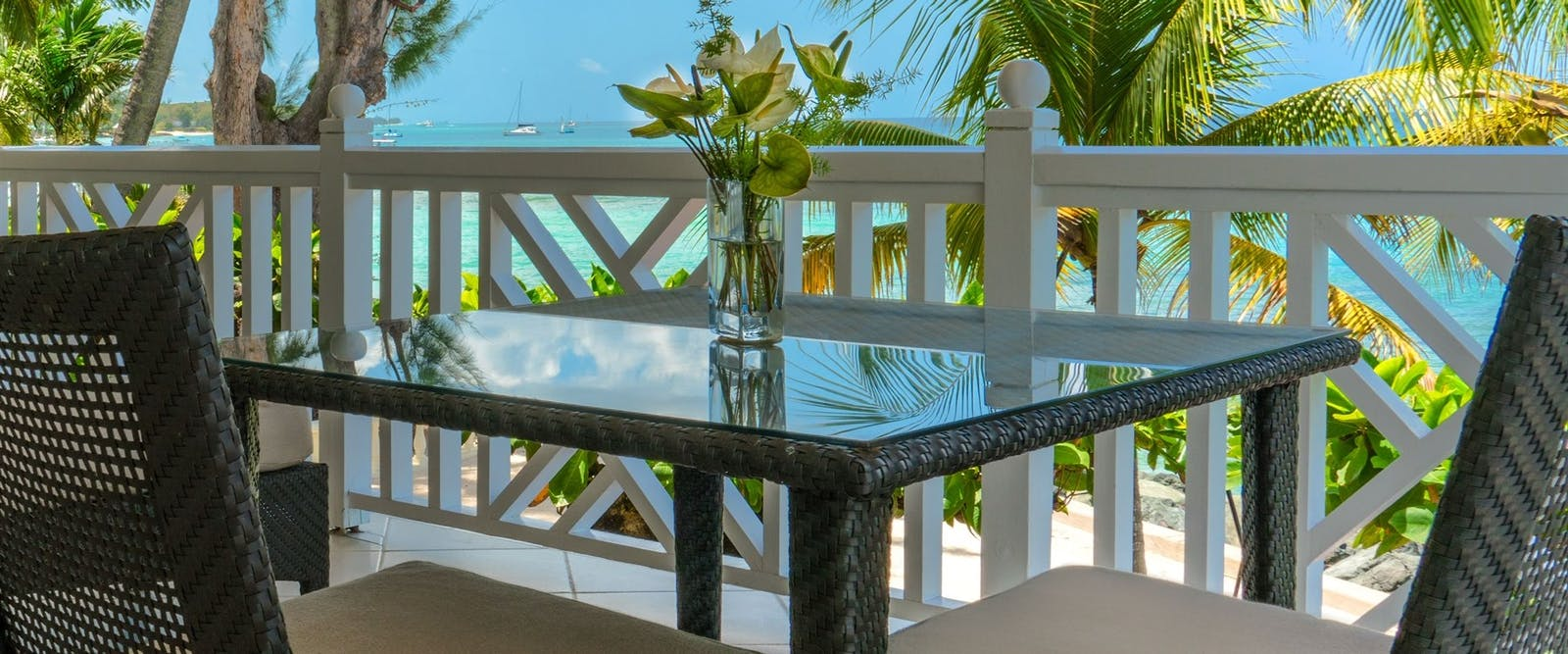 Luxury Junior Suite Balcony at Coral Reef Club, Barbados