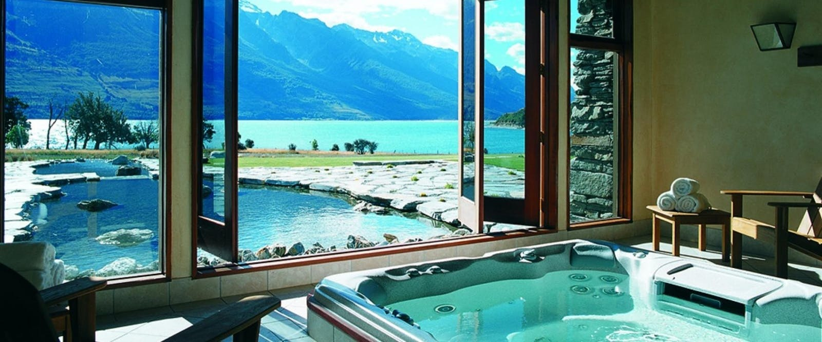Spa at Blanket Bay, Glenorchy