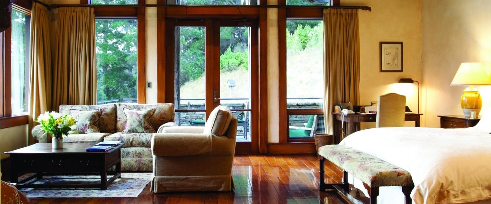 Lodge Room at Blanket Bay, Glenorchy
