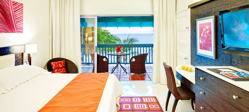 Ocean View bedroom at Crystal Cove, Barbados