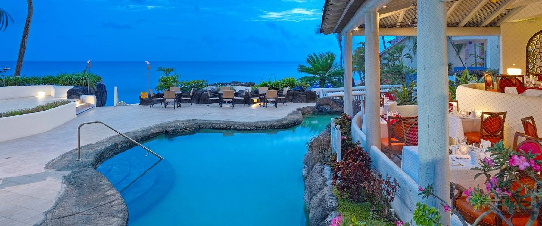 Reflections Restaurant at Crystal Cove by Elegant Hotels, Barbados