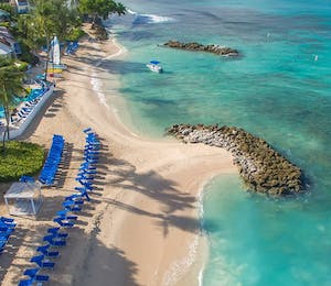 Aerial View of Crystal Cove by Elegant Hotels, Barbados