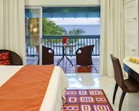Ocean View Bedroom at Crystal Cove by Elegant Hotels, Barbados