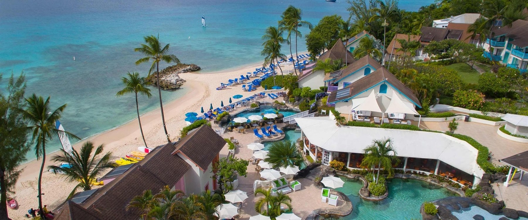 Beach at Crystal Cove by Elegant Hotels, Barbados