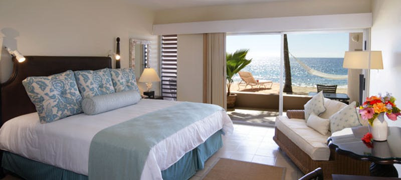 A Deluxe Room with beach access at Curtain Bluff, Antigua