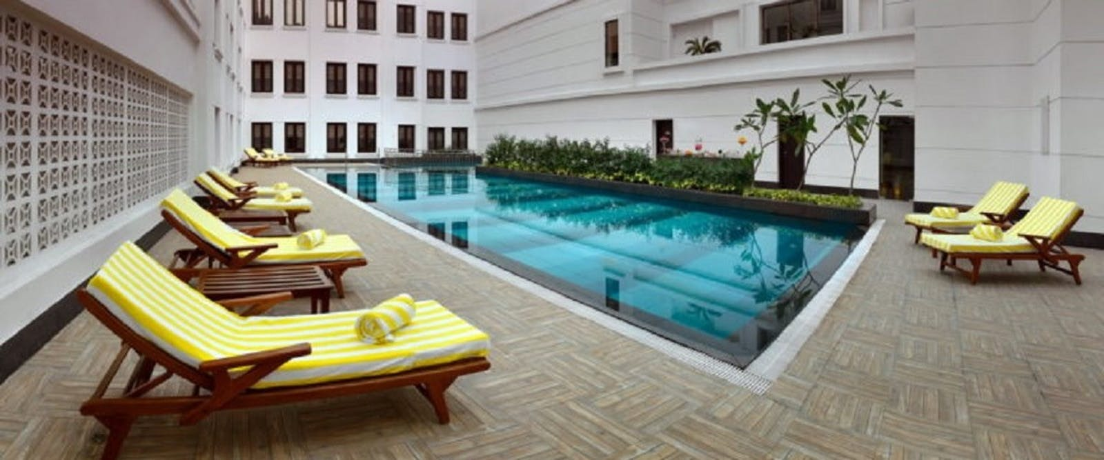 Poolside at The LaLit Great Eastern Calcutta