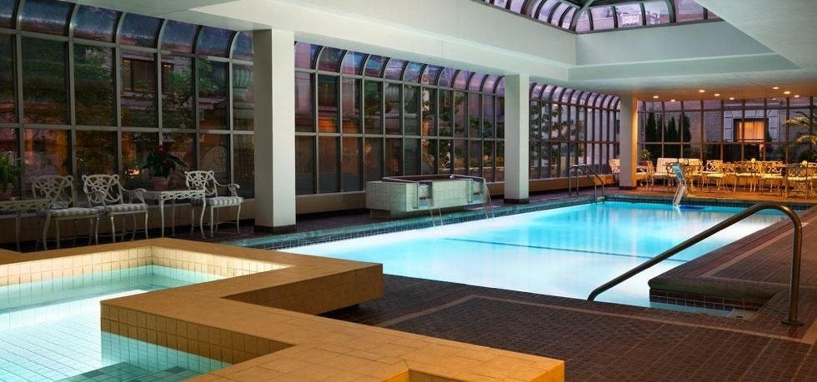 Pool at Fairmont Olympic Hotel, Seattle