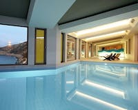 Indoor Pool at Daios Cove, Crete, Greece